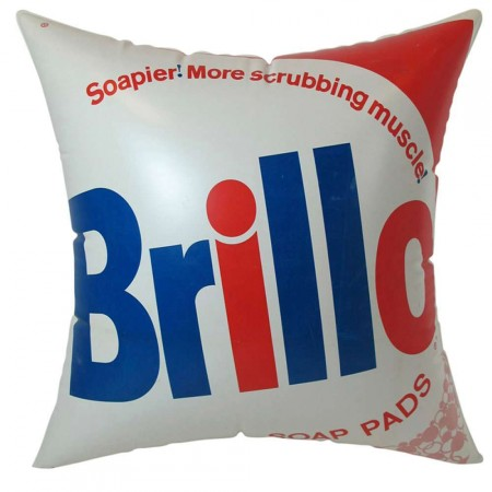 1960s Inflatable Brillo Pillow After Andy Warhol