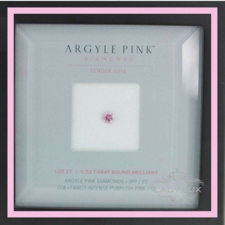 Argyle Tender Diamond 2016 Lot 27