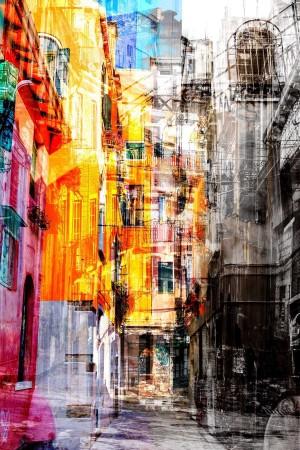 Street Fade | Framed Original Fine Art Photography |