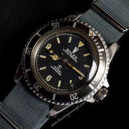 Rolex Military Submariner 5512