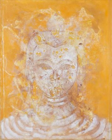 Saffron Buddha