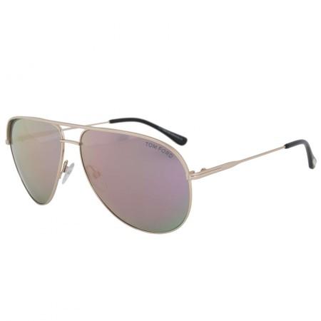 Tom Ford Erin Aviator Sunglasses FT0466 29Z 61   Gold Frame   Smoke Gold Mirror