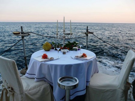 Amalfi Sunset Yacht Aperitif and Intimate Dinner On The Sea