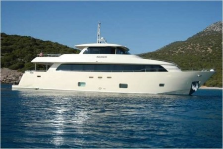 2013 Aegean Yacht - 28m M/Y ADAGIO - For Sale