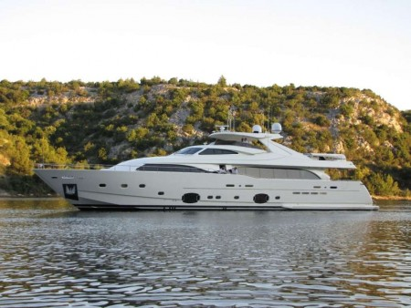 2010 Ferretti Custom Line 112 34m - FOR SALE
