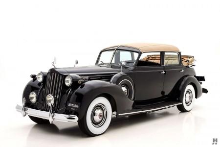 1939 packard twelve brunn touring cabriolet