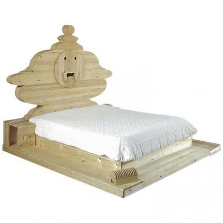 Bocca Della Verità Bed by Mario Ceroli, Mobili Nella Valle