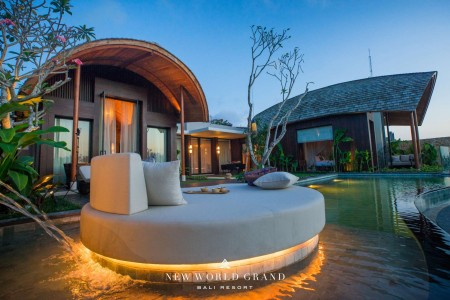 Villa (2 Bedroom) - New World Grand Bali Resort, Pecatu, Uluwatu, Bali