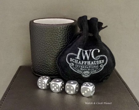 IWC 250th anniversary dice  / travel cube game – IWA33219