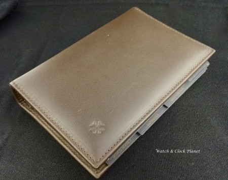 Vacheron Constantin leather user manual / refillable notebook