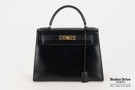 Hermes Kelly 28 Black