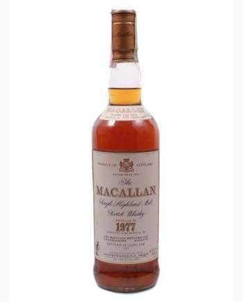 Macallan 1977/18 years