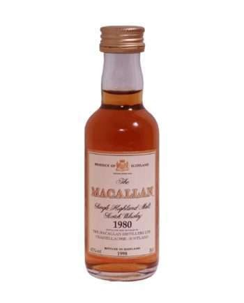 Macallan 1980/18 years