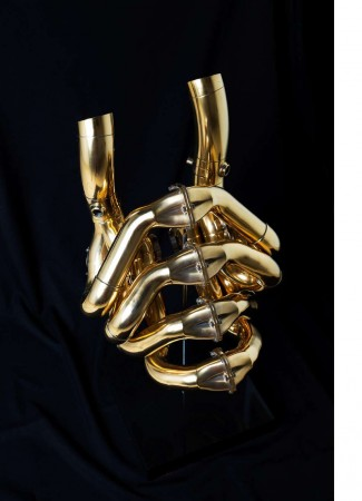 Gold F1 Sculpture - Exclusive opportunity to own a piece of F1 History