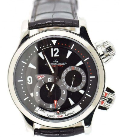 JAEGER-LECOULTRE MASTER CONTROL GEOGRAPHIC 146.8.83/1 WATCH