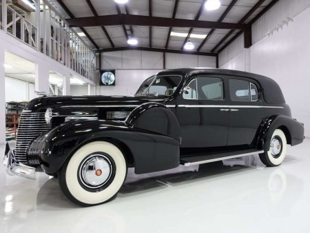 Howard Hughes' 1940 Cadillac Fleetwood Series 75 Formal Sedan
