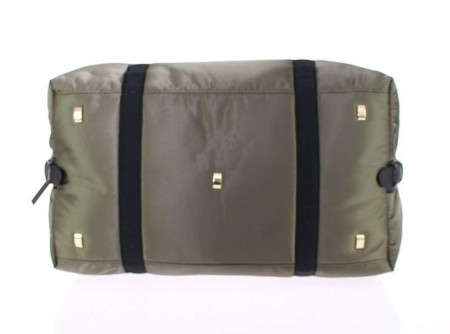 Dolce & Gabbana Green nylon unisex boston bag