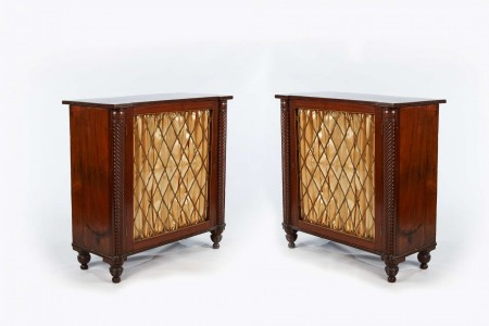 10084 – 19th Century Pair of Mahogany Chiffonieres