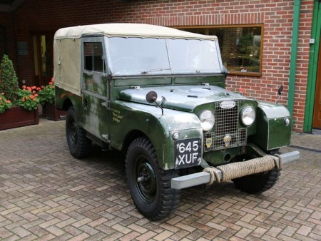 LAND ROVER SERIES 1 RHD