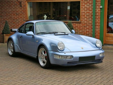 PORSCHE 911 (TYPE 964) TURBO 3.6 X88 RHD
