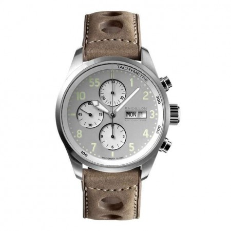 Timeless Chronograph Watch - Gray Green