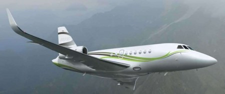 Falcon 2000S - for charter
