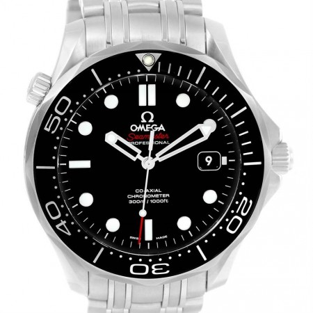 Omega Seamaster Diver Co-Axial Watch 212.30.41.20.01.003 Box Papers