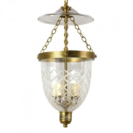 Contemporary Regency-style Pendant Light