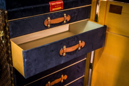 Louis Vuitton Upright Trunk with Drawers