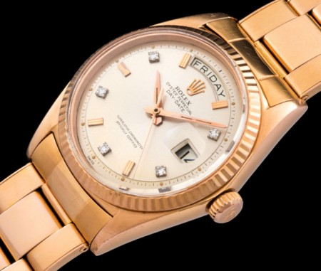 "Rolex ""The Break Point rose gold 1803"""