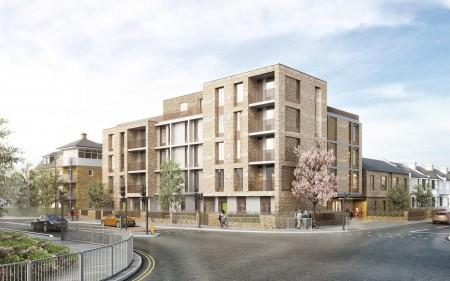 Development Site with Planning in West London For 36 Residential Apartments