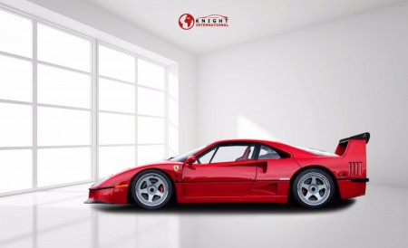 Selection of three Ferrari F40