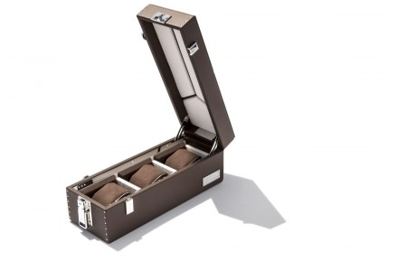 Watch T3 Leather Box - Brown