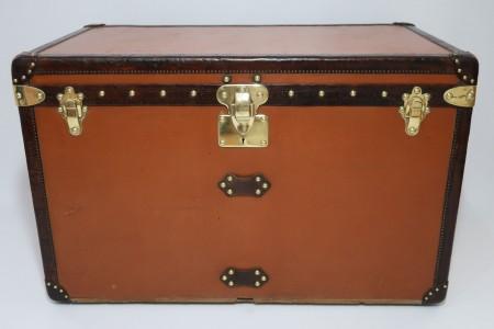 1920s Louis Vuitton Vuittonite Courier Trunk