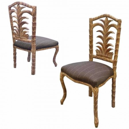 20th Century Egyptian Dining Chairs