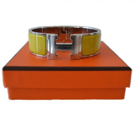 Hermes Hermès bracelet model Clic H Lime