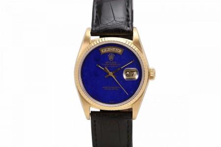 Rolex Lapis Day-Date Ref 18038
