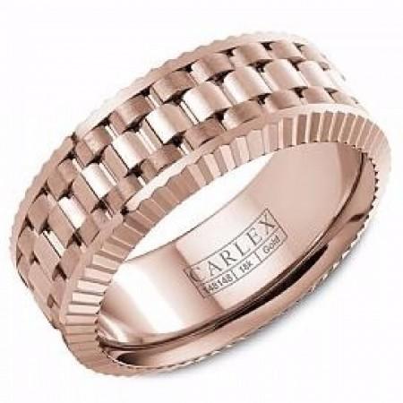 Carlex ring 18K rosegold