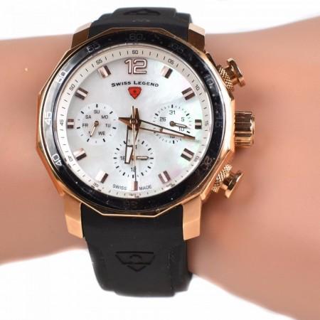 Swiss Legend Sapphitek Crystal Watch