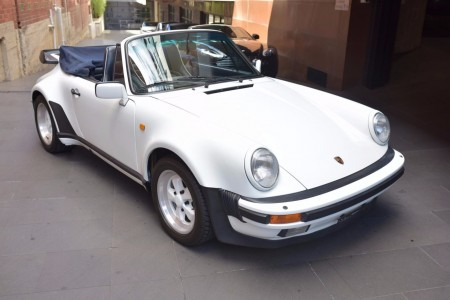 1989 Porsche 911/930 Turbo Cabriolet