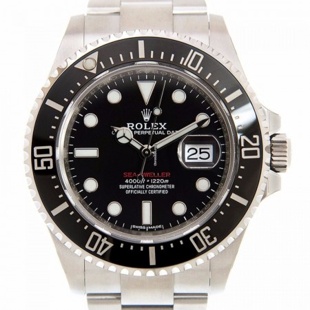 Rolex Sea-dweller Ceramics - Steel Black Automatic