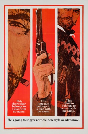 Original Fistful of Dollars US 1 Sheet Film Movie Poster Advance Style B