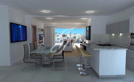 Brand new Penthouse on the harbour in Pietà