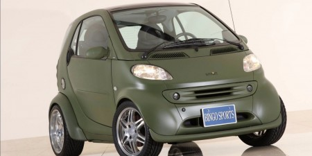 2002 smart fortwo coupe BRABUS Widestar