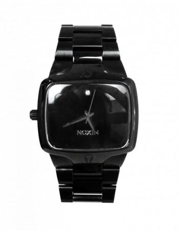 Nixon The Player Black Watch W/ Diamond & Silvertone Hardware