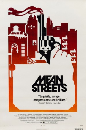 Original Mean Streets 1973 US Film Movie Poster
