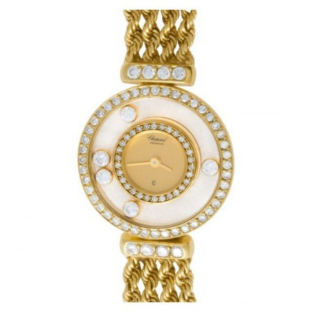 Chopard Happy Diamond SG4012 18k yellow gold Gold dial 23mm Quartz watch
