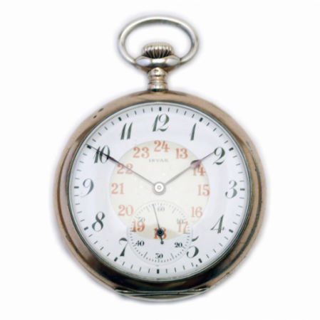 INVAR POCKET WATCH FROM 1912
