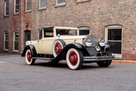 1930 Cadillac Model 353 Convertible Coupe By Fisher