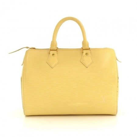 Louis Vuitton Speedy 25 Vanilla Epi Leather City Hand Bag